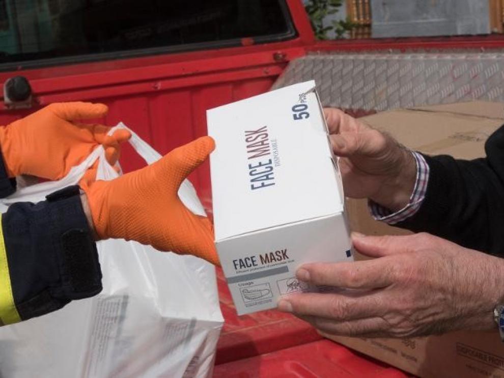 La DPH entregará más de medio millón de mascarillas para empleados públicos