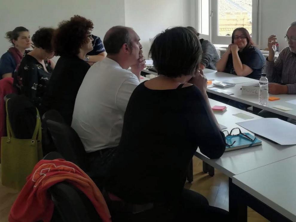 Vuelve la actividad al Colaboratorio de Huesca
