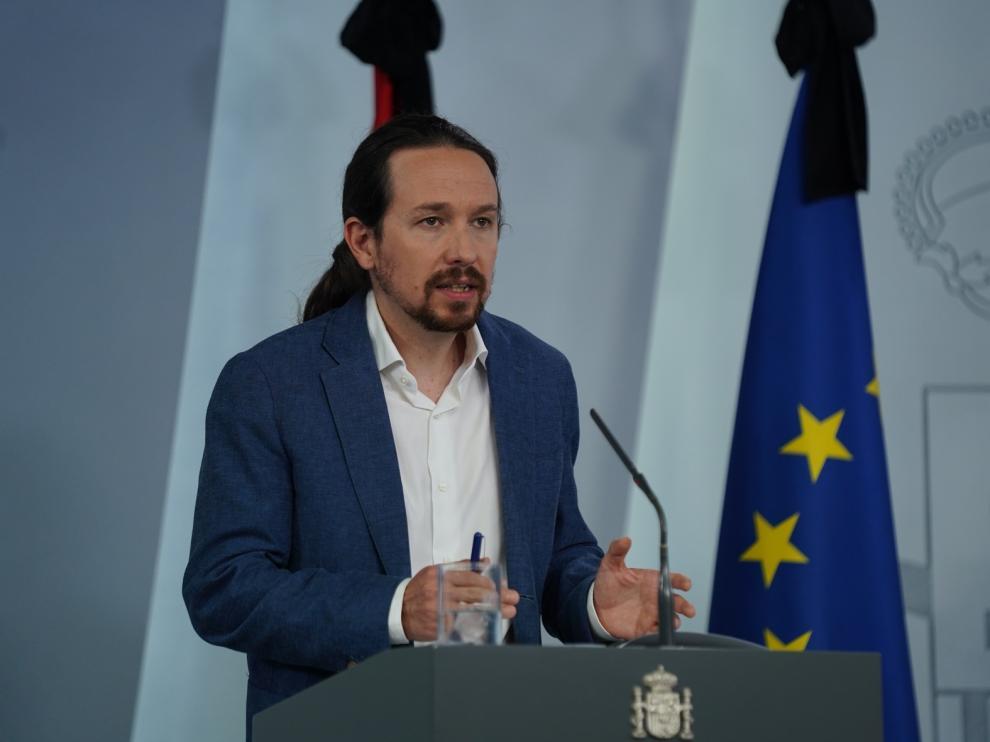 Iglesias dice que se equivocó cuando acusó a Vox de querer un golpe de Estado