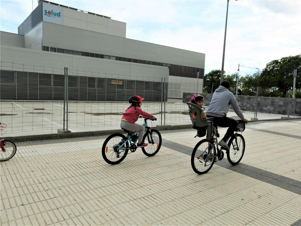 El Centro de Salud de Los Olivos de Huesca se pondrá en marcha en unos días