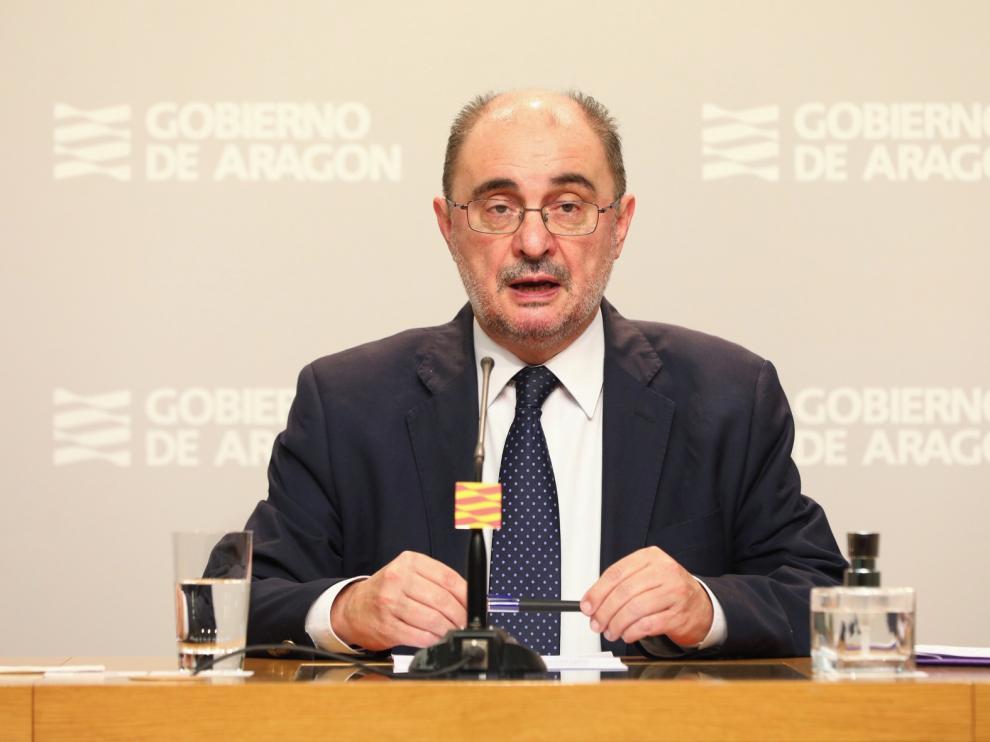Lambán pide aumentar el margen de déficit en la región