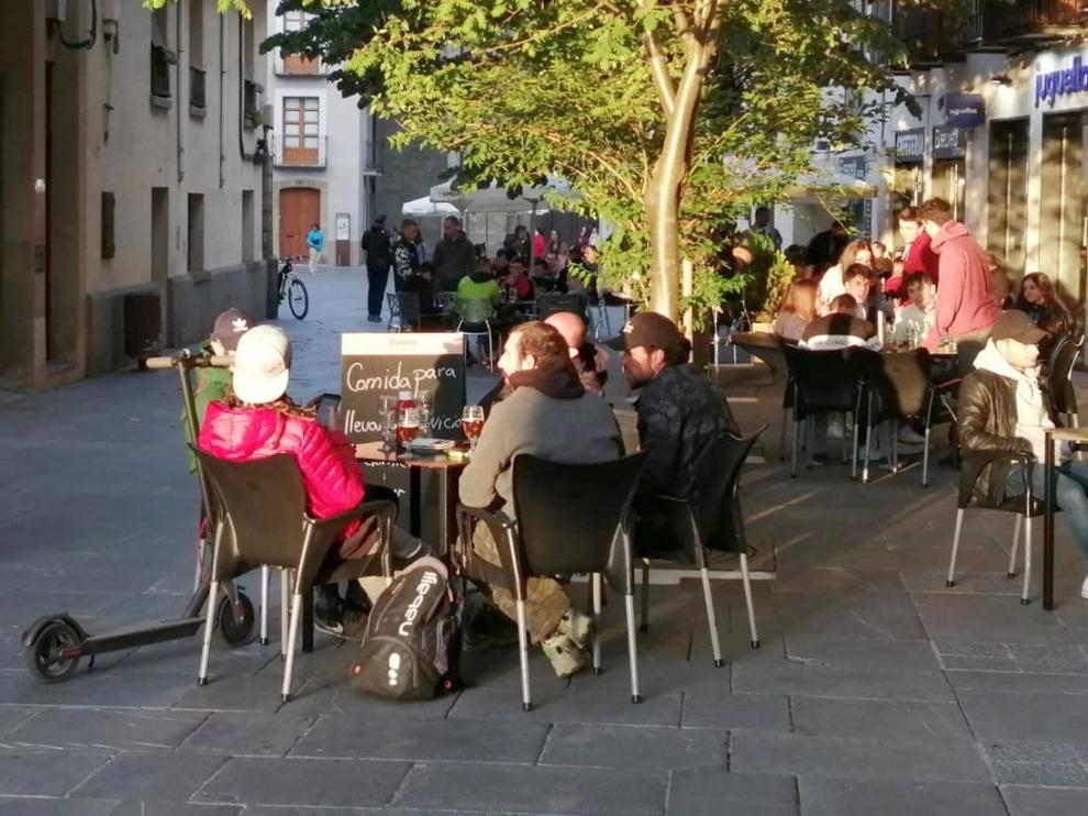 La higiene y el control de aforos en la provincia de Huesca son claves para los turistas