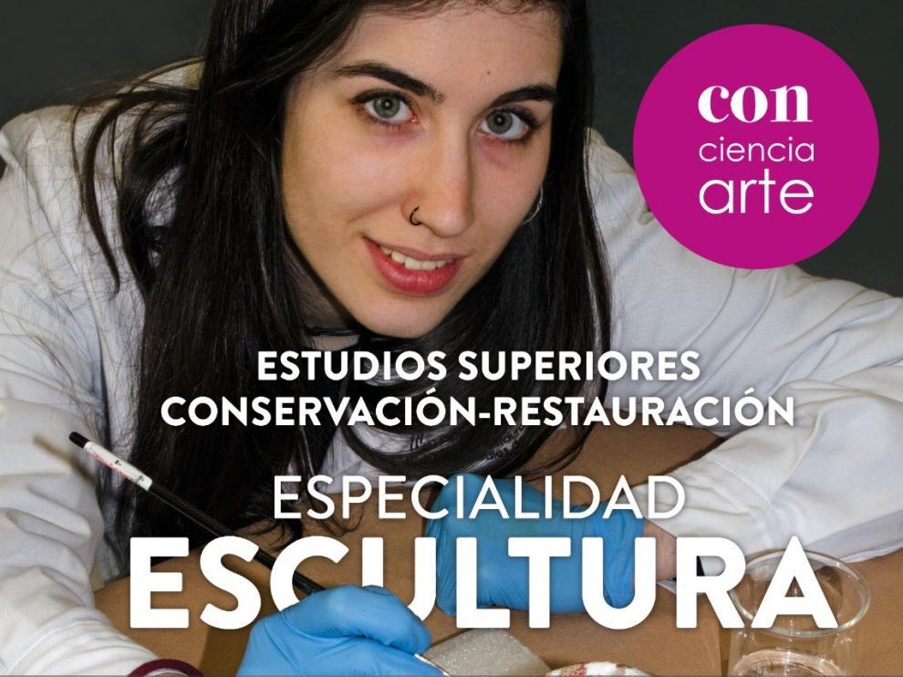 La Escuela de Conservación y Restauración de Huesca abre el periodo de inscripción