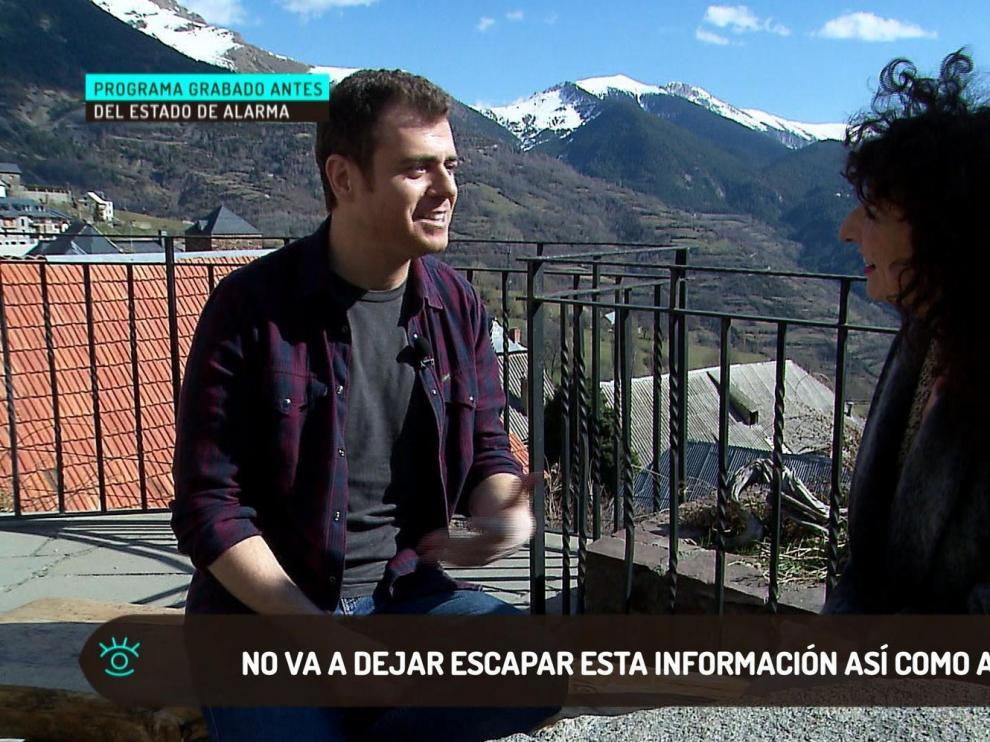 """""""Nos vemos"""" viaja este domingo a Gistaín de la mano del periodista Jorge San Martín"""