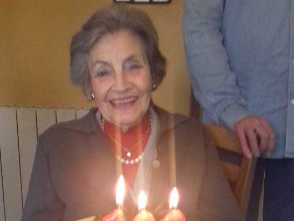 María Luisa Torralba celebró 100 años