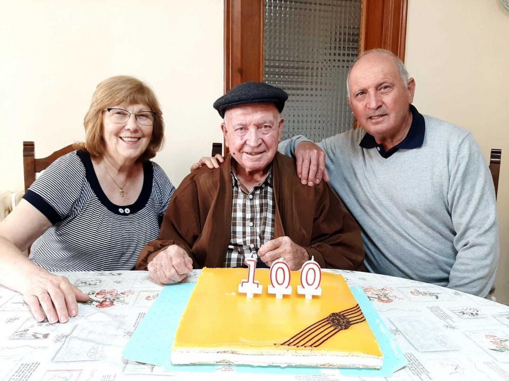 Antonio Valentín Dueso ya es centenario