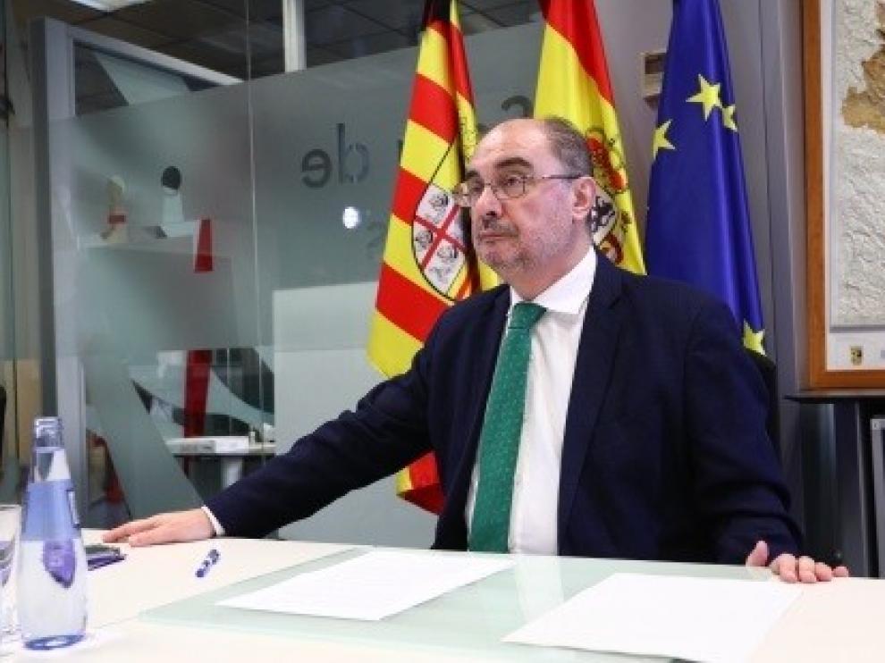 Lambán autorizará la movilidad interprovincial a partir del 8 de junio si Aragón entra en fase 3