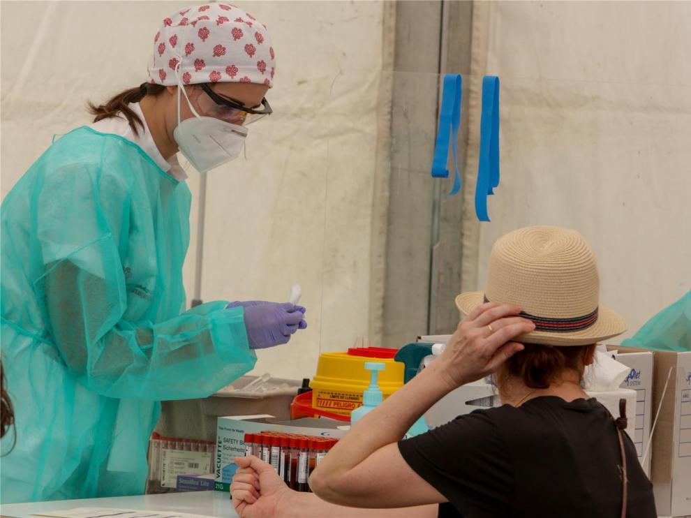 Huesca registra dos positivos más y alcanza los 780 contagios