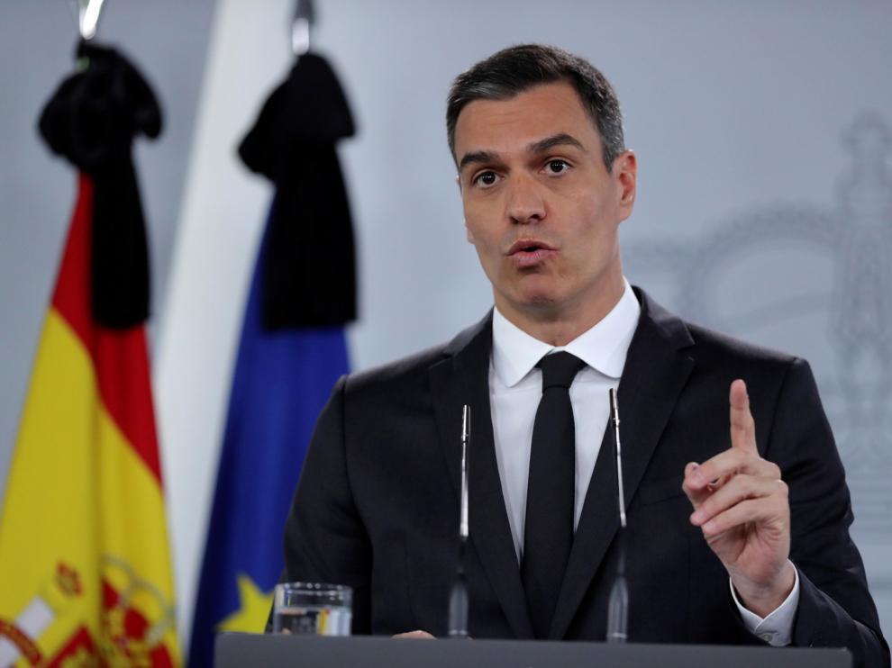 """Sánchez da su """"absoluto apoyo"""" a Marlaska"""