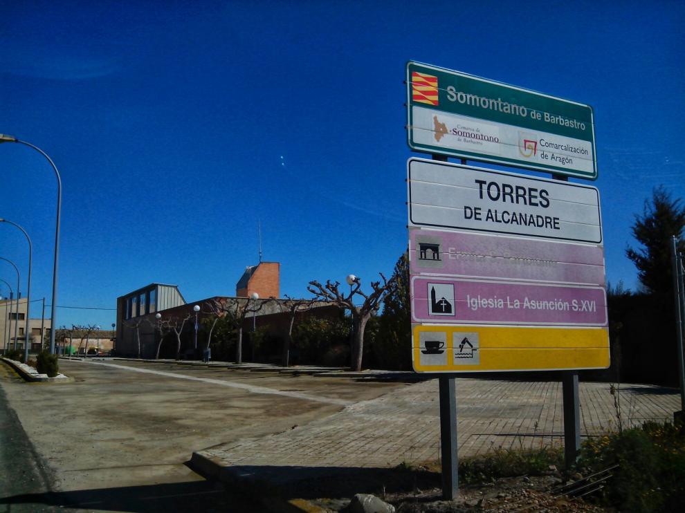 Torres de Alcanadre, de luto dos días por el fallecimiento del joven en moto en Poleñino