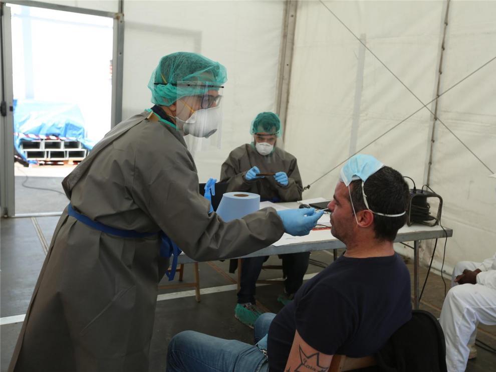 Jornada sin nuevos casos de coronavirus en la provincia de Huesca y dos altas hospitalarias más