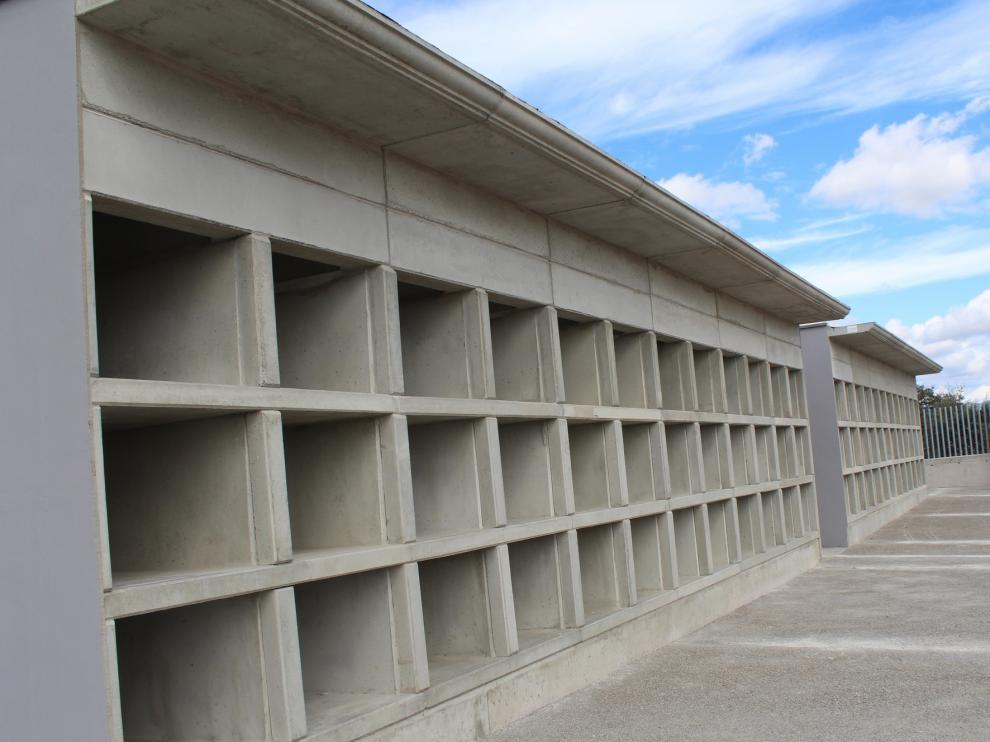 A licitación una nueva fase del cementerio de Monzón para la construcción de 288 nichos