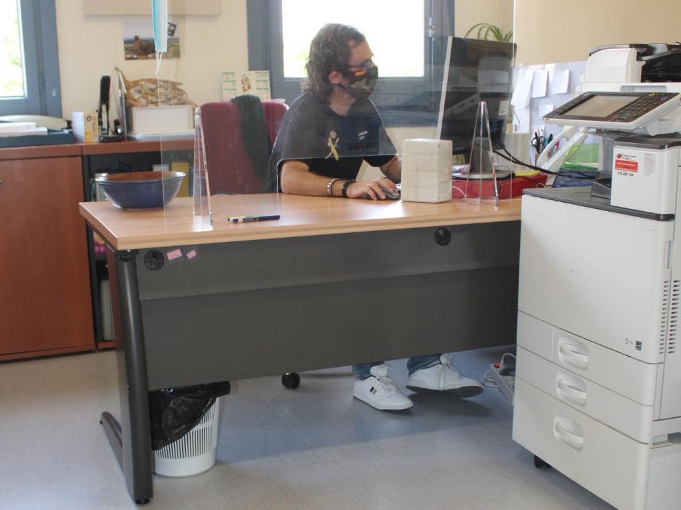 La Comarca de Los Monegros retoma el trabajo presencial en sus oficinas con medidas de seguridad frente al coronavirus