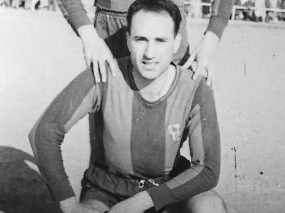 Fallece Jesús Aspiroz, una de las leyendas del Huesca