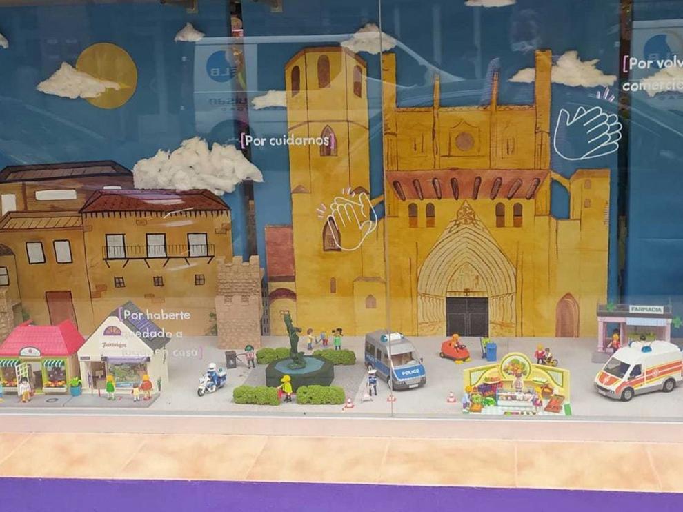 La juguetería Zarandajas de Huesca da las gracias con clicks
