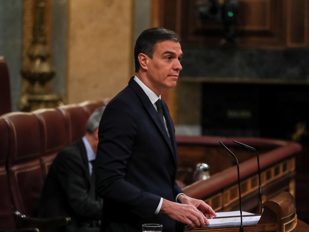 """Pedro Sánchez asegura que el ingreso mínimo vital no es """"caridad"""" sino """"protección"""""""