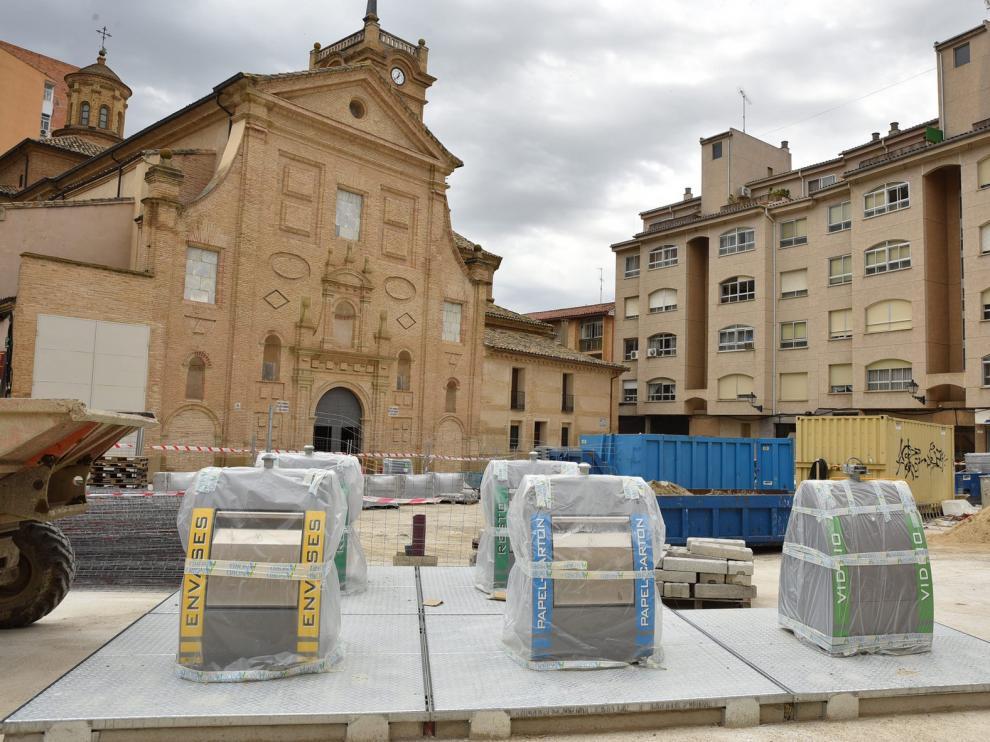 Los vecinos piden un cambio de ubicación de los contenedores