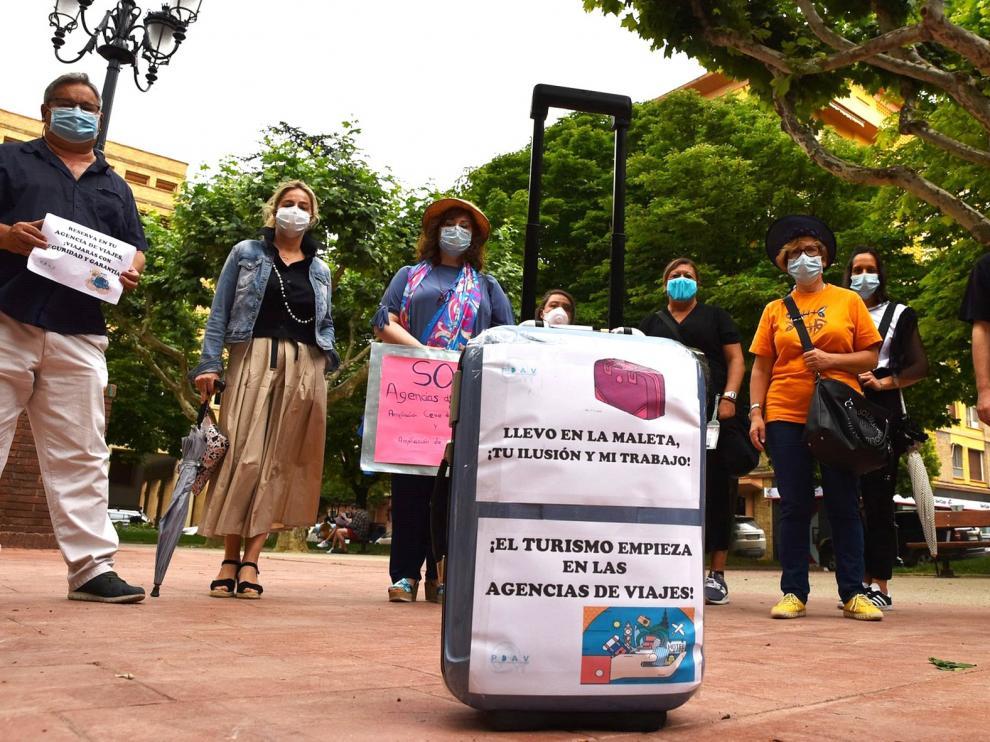 Las agencias de viajes piden medidas y lanzan un SOS desde Huesca