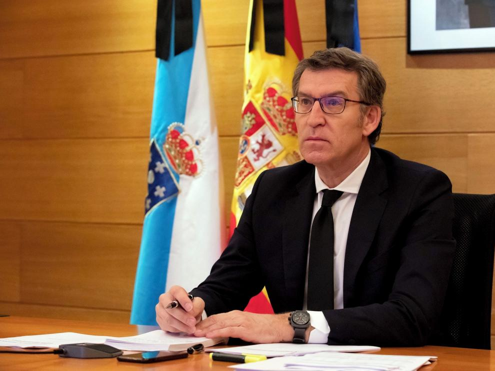 Alberto Núñez Feijóo aboga por ampliar el Xacobeo 2021