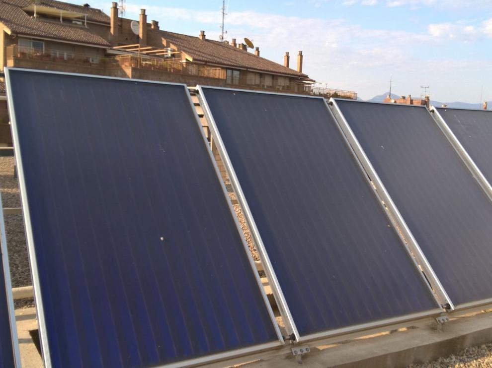 Impulsan un barrio solar en la capital aragonesa con 300 paneles fotovoltaicos