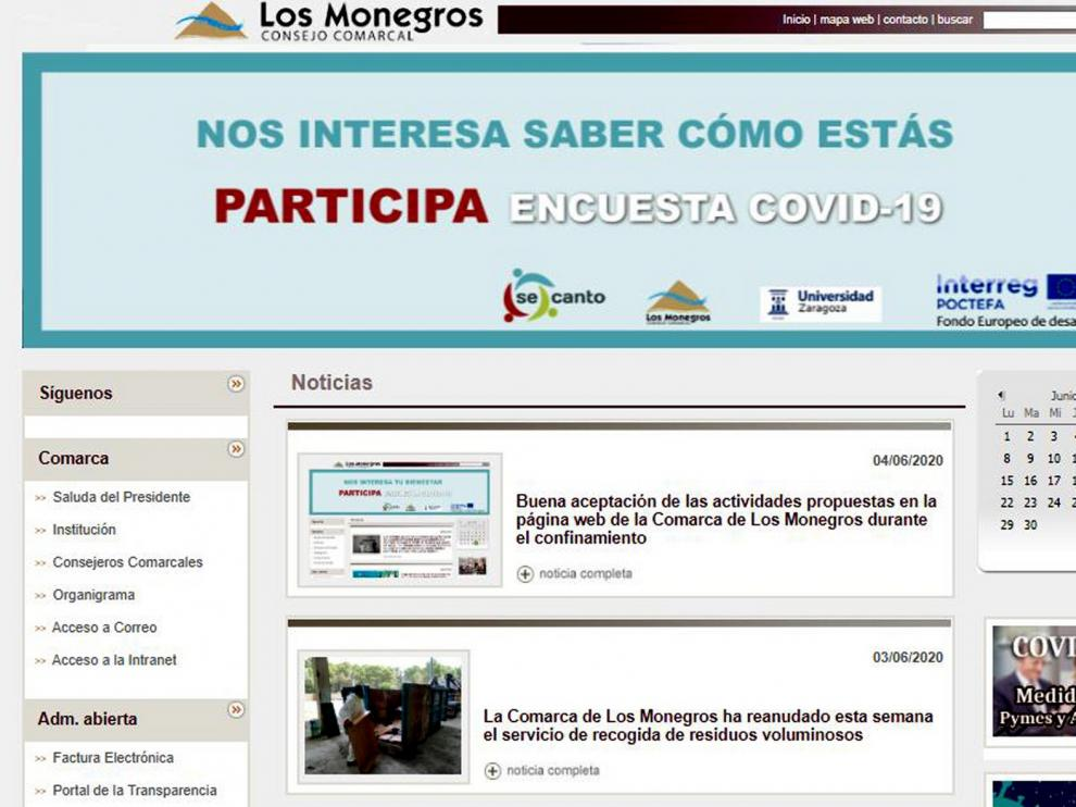Casi 30.000 visualizaciones en la web de Monegros