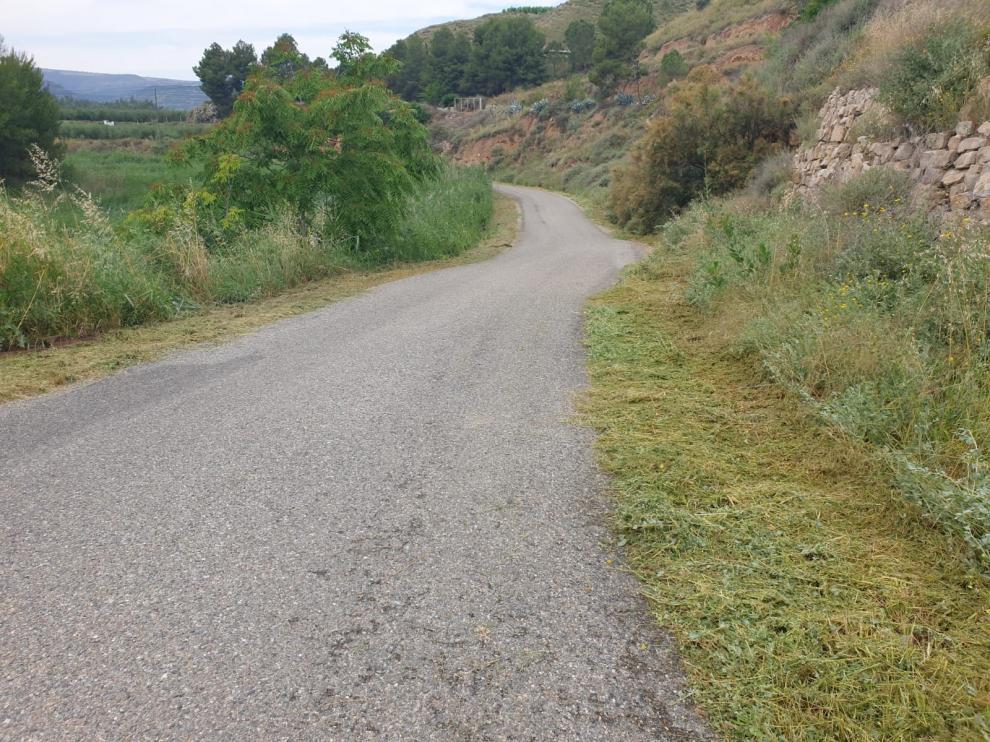 Asfaltado de cinco caminos rurales en Fraga con un presupuesto de más de 72.000 euros