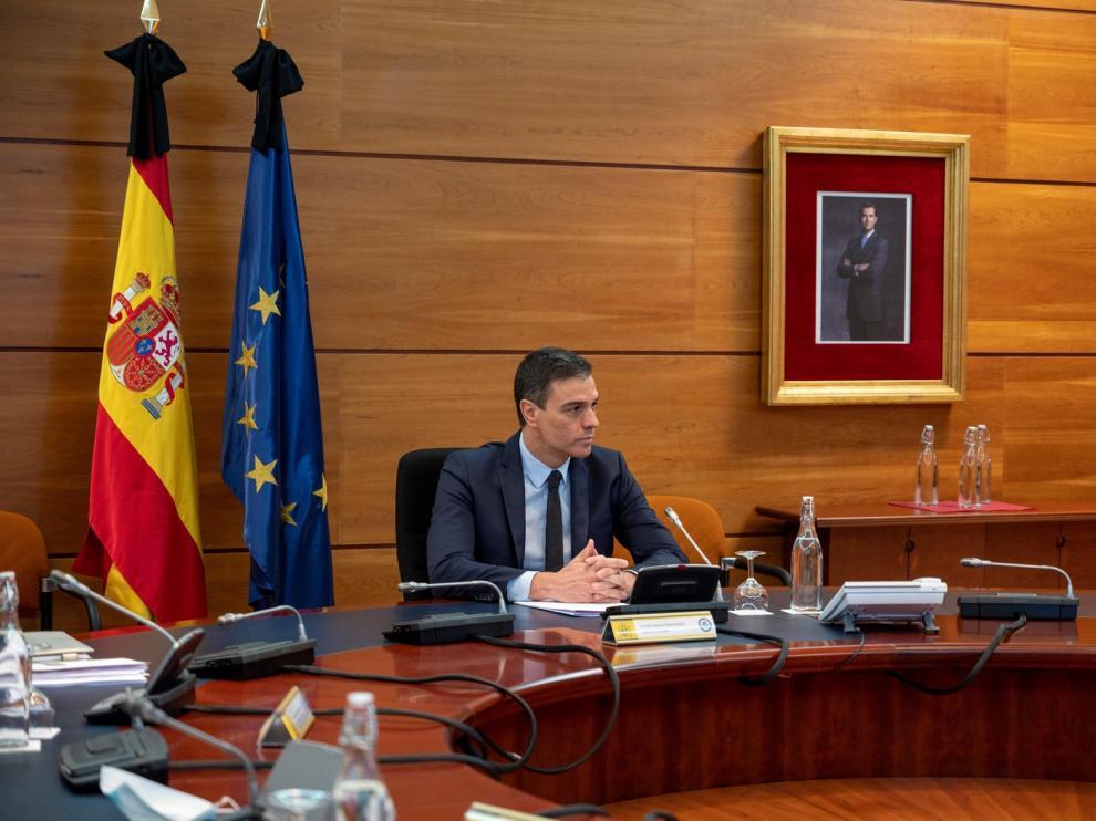 Pedro Sánchez reitera su anuncio de 50 millones para la Alianza de Vacunas GAVI