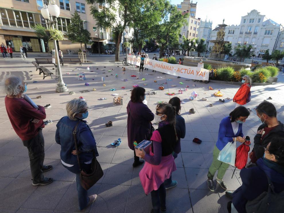 La Alianza por el Clima de Huesca llama a defender el Planeta Tierra