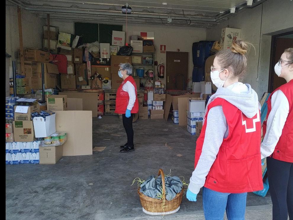 Cerca de 500 voluntarios participan en el Plan Cruz Roja Responde frente a la covid-19 en la provincia de Huesca