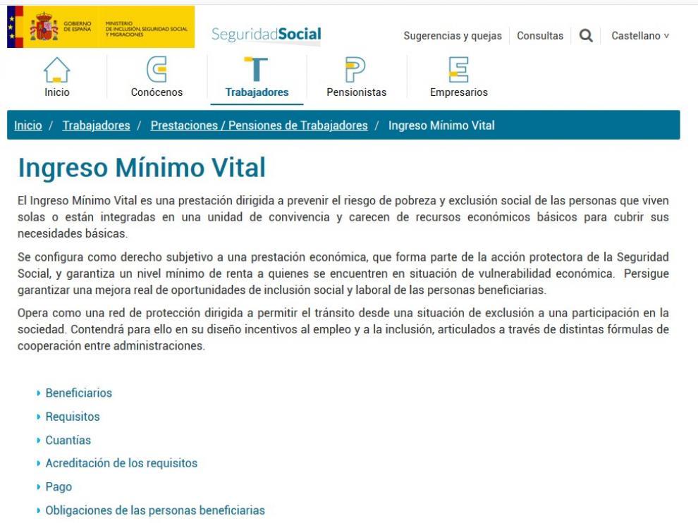 Cs Jacetania pide al Gobierno información clara sobre el Ingreso Mínimo Vital
