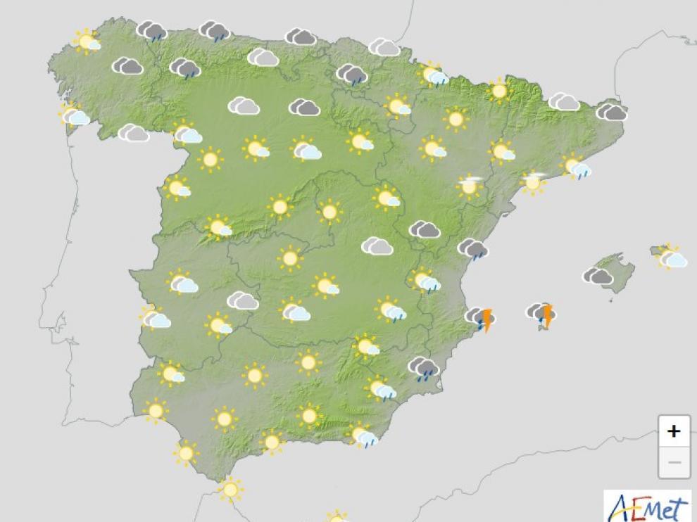"""Llega el """"cuarenta de mayo"""" con lluvias y frío en amplias zonas del país"""