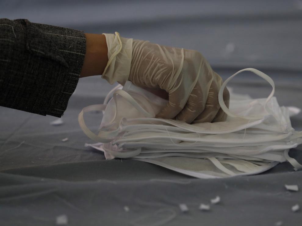 El Gobierno ha distribuido más de 130 millones de mascarillas
