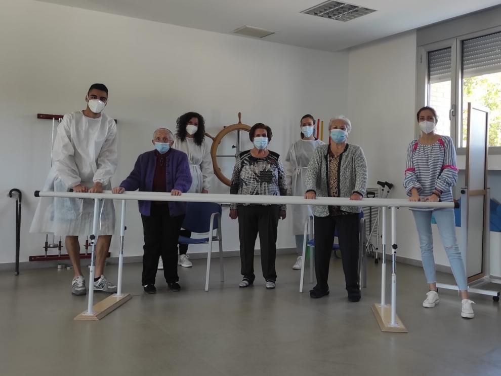 Los hogares de mayores del IASS retoman servicios paralizados por la pandemia