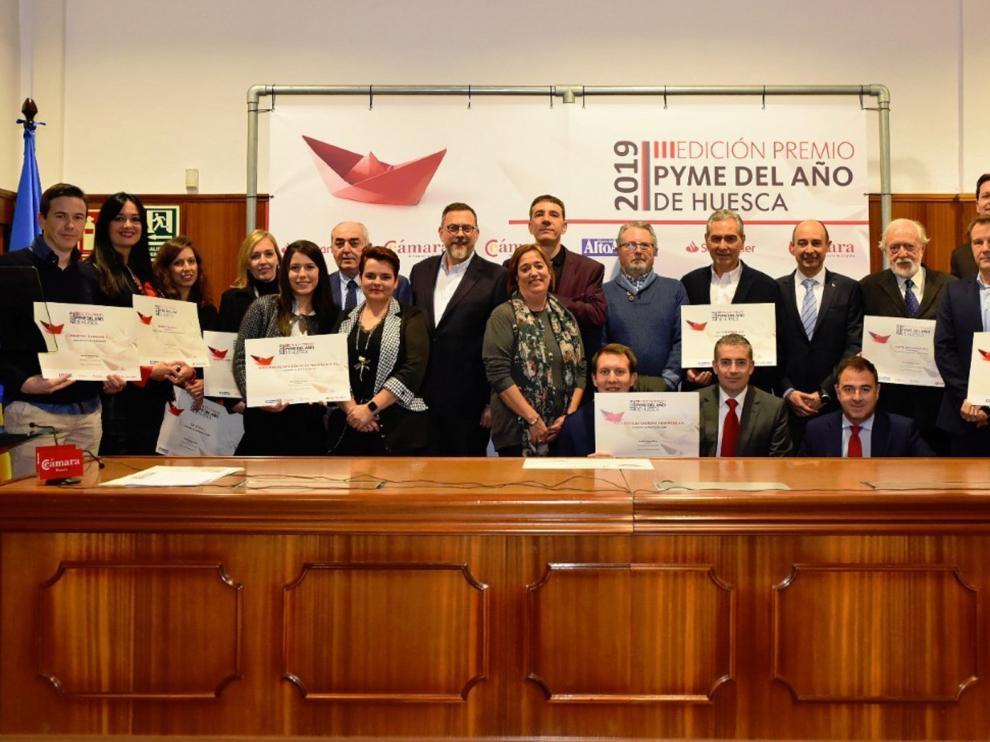 Banco Santander y la Cámara de Comercio de Huesca lanzan la cuarta edición del Premio Pyme del Año
