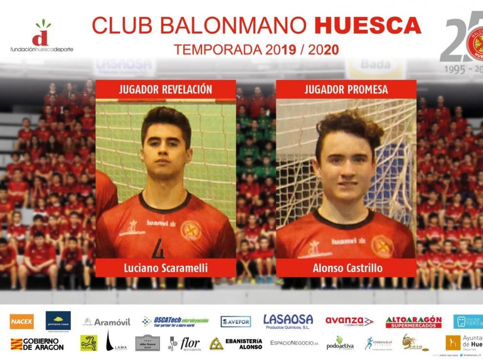 BM Huesca anuncia los premios a sus mejores jugadores