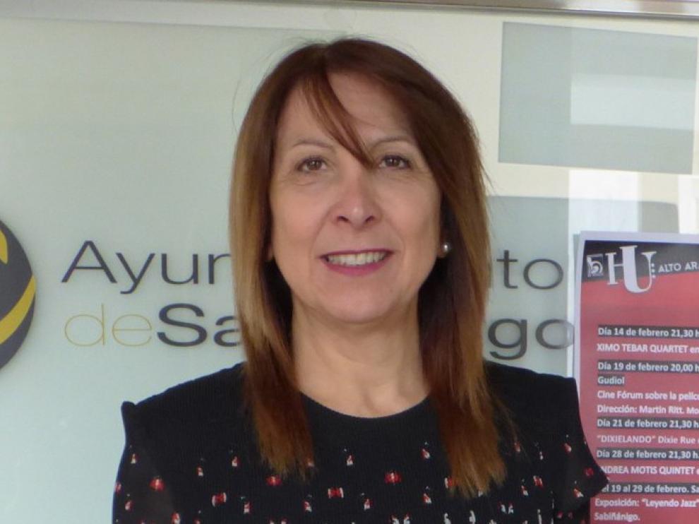"""Berta Fernández, alcaldesa de Sabiñánigo: """"Vamos a intentar que la afección sea más tangencial que estructural"""""""