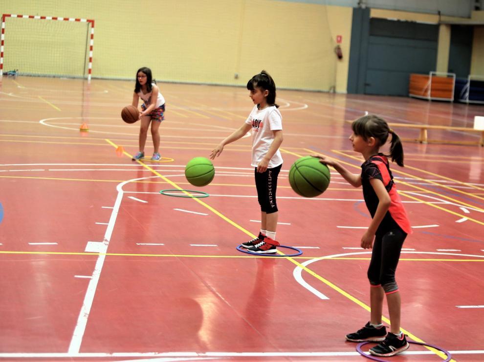 El CBF Huesca vuelve a entrenar