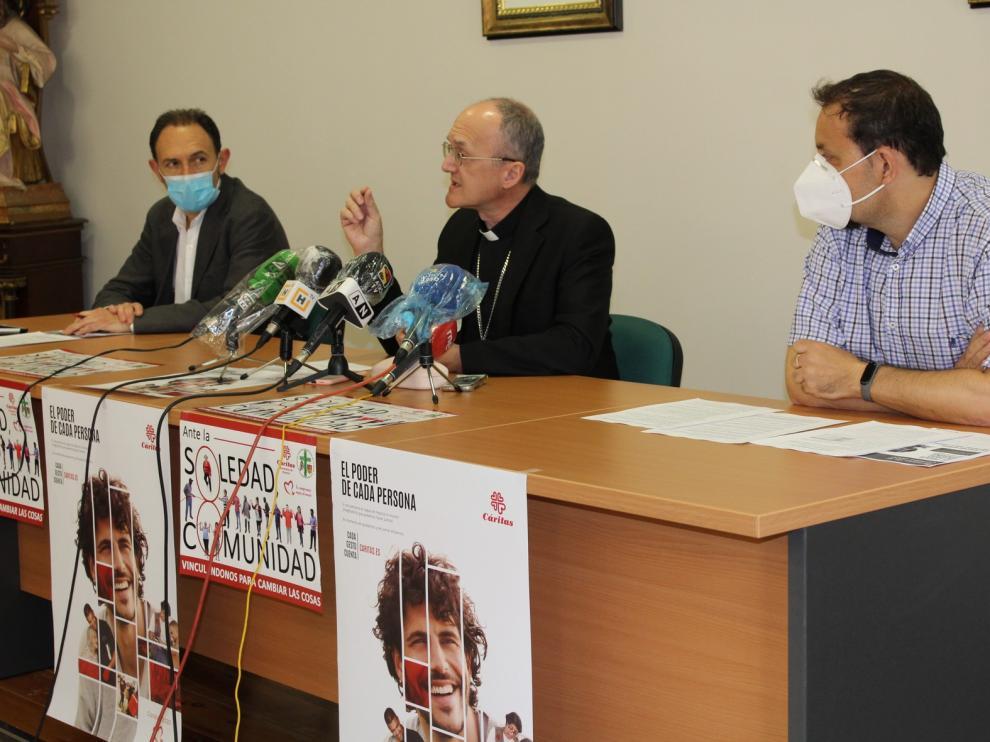 Caritas Huesca hace balance de las últimas semanas de pandemia y presenta su Memoria de actividades 2019