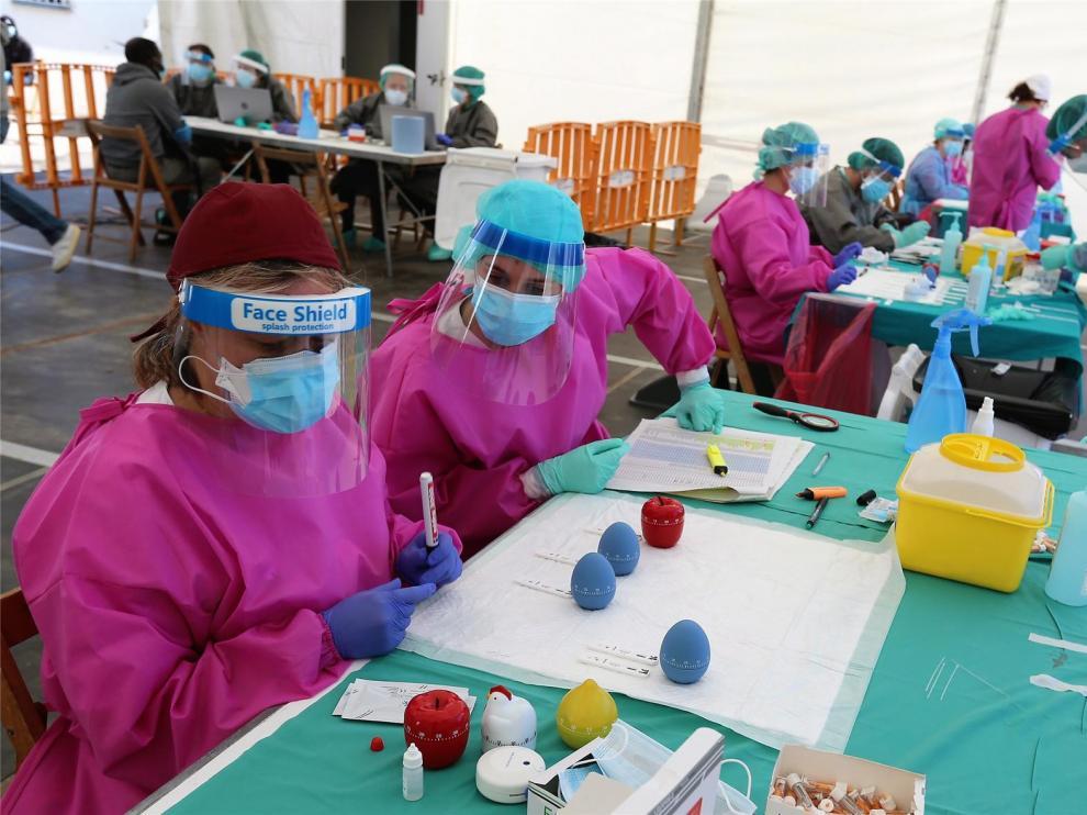 Salud Pública notifica este jueves tres casos más de coronavirus en la provincia de Huesca