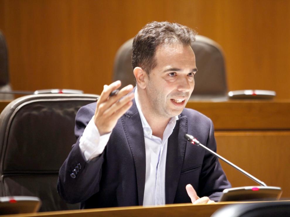 """Jesús Guerrero: """"Estoy convencido de que la justicia fallará a favor de Aragón en el litigio por las obras de Sijena"""""""