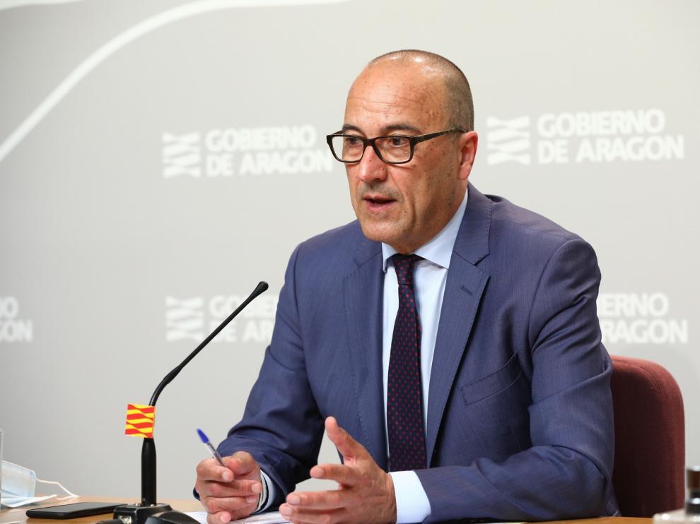 Aragón reducirá las ratios y busca alternativas para el horario de comidas
