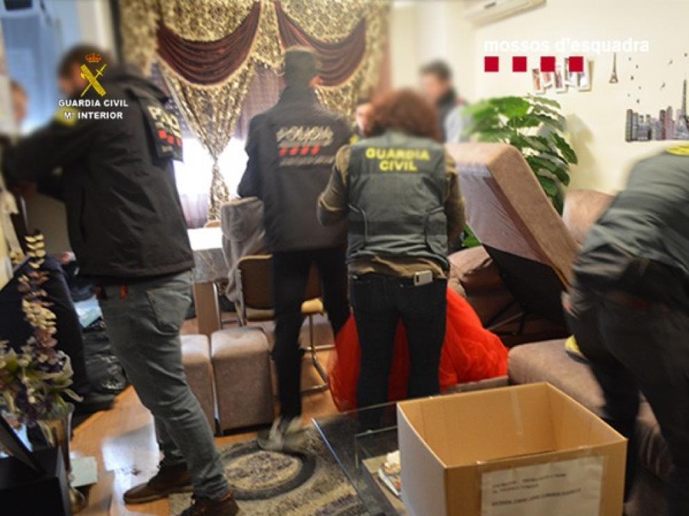 Desarticulada una importante organización internacional dedicada al tráfico de seres humanos