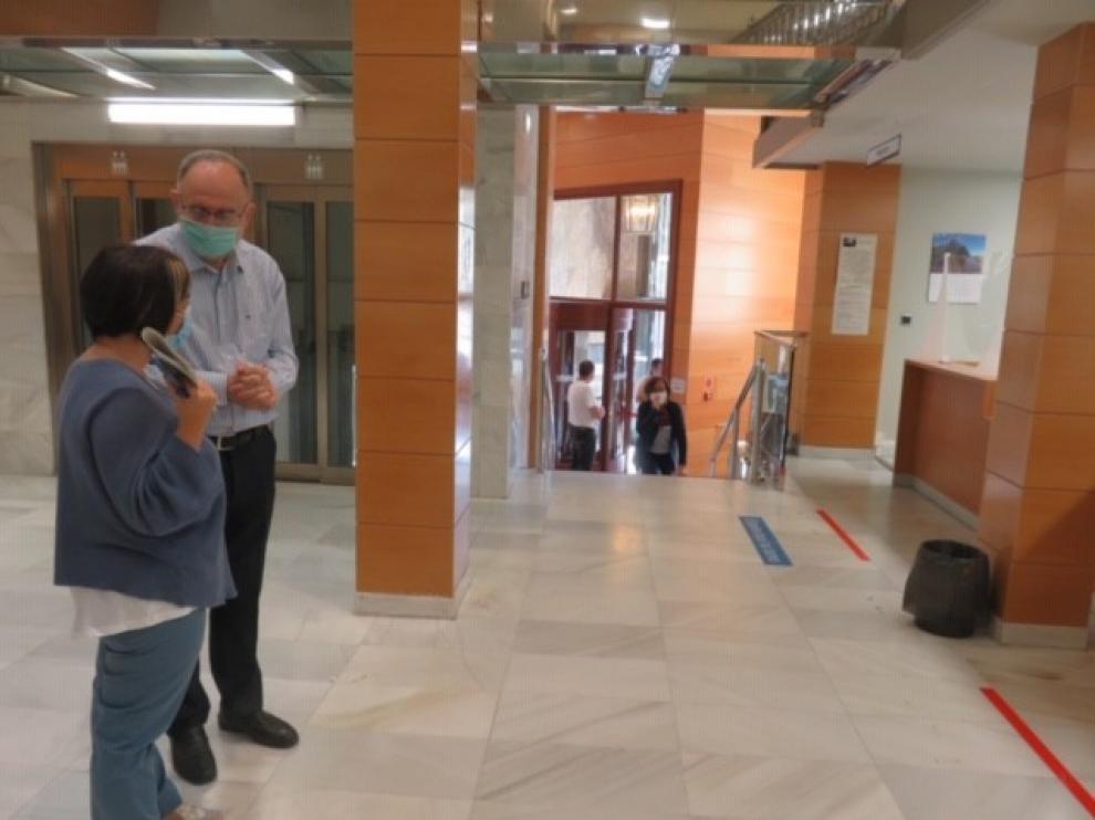 Las oficinas de Tributos del Gobierno de Aragón recuperan desde este viernes la atención presencial