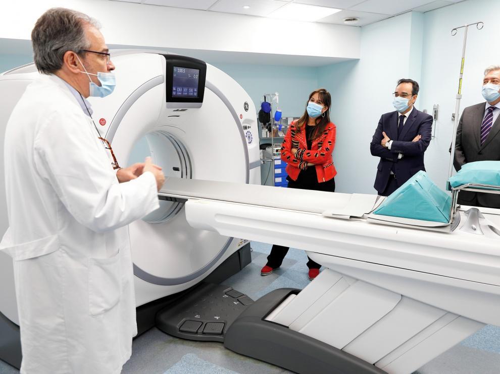 El Hospital Infantil de Zaragoza estrena un escáner de baja radiación