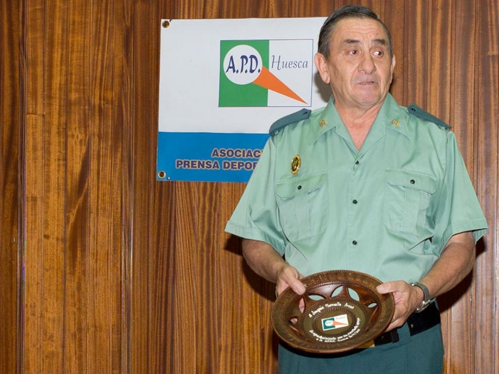 Luto en la Asociación de la Prensa Deportiva de Huesca por la muerte de su Socio de Honor Joaquín Marcuello Arcas