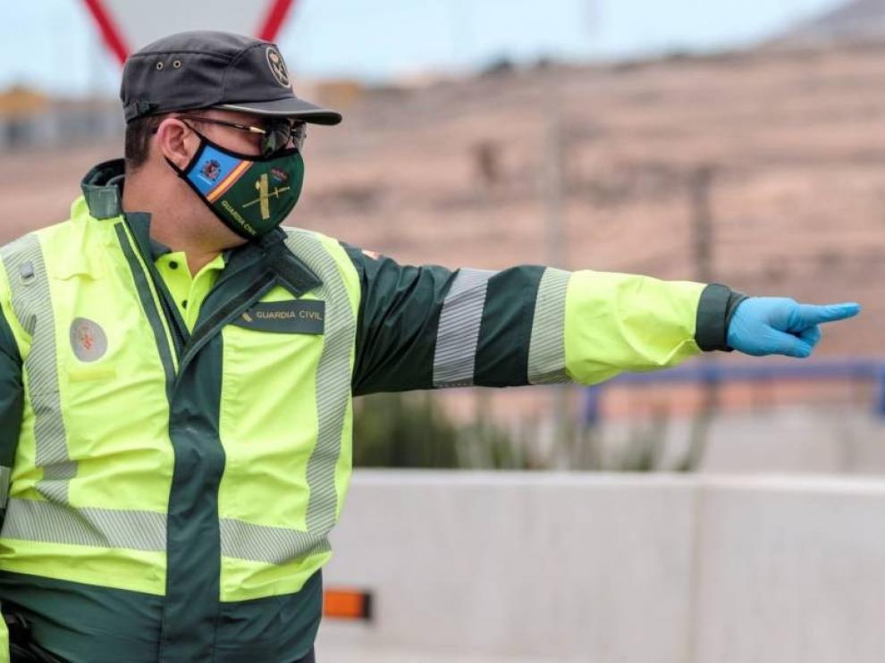 La Guardia Civil cierra la cafetería de la Comandancia de Teruel por un caso de coronavirus