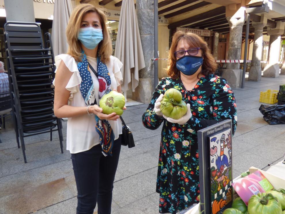 Reabre el Mercado de Frutas y de Hortalizas de Barbastro