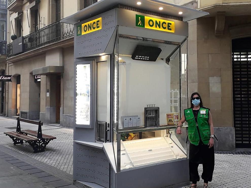 La ONCE presenta en Huesca su cupón de apoyo a la hostelería