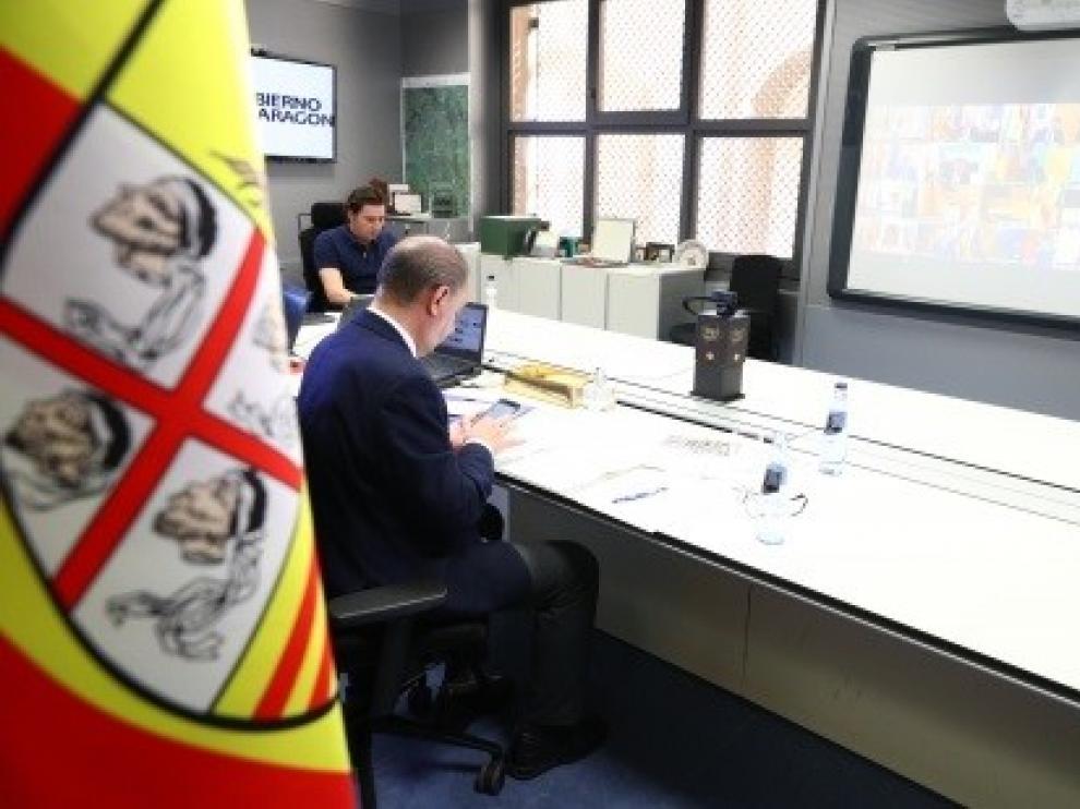 Aragón reducirá la distancia entre alumnos a un metro en el inicio del curso en septiembre