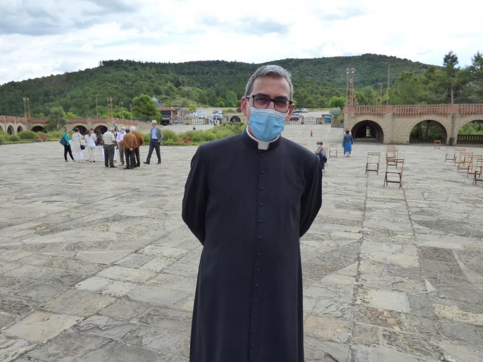 Torreciudad homenajea a las víctimas del coronavirus en la festividad del Corpus